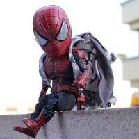 蜘蛛侠玩具公仔钢铁侠手办格鲁特毒液死侍复仇者联盟人偶模型可动