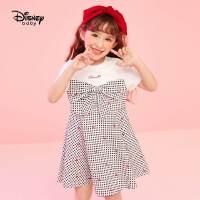 【2件3折:79.5元】迪士尼女童夏装连衣裙2021新款宝宝公主裙儿童夏款裙子洋气时尚