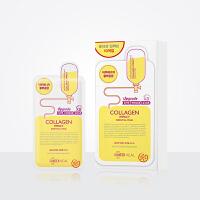 美迪惠尔(Mediheal)原可莱丝 针剂保湿补水面膜系列 COLLAGEN胶原蛋白针剂面膜25ml*10