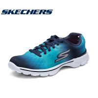 skehers斯凯奇 GO WALK 轻质健步鞋女缓震渐变运动休闲鞋