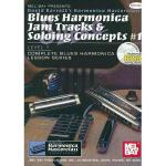【预订】Blues Harmonica Jam Tracks & Soloing Concepts #1: