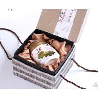 茶叶罐陶瓷大号密封罐存茶罐带盖陶瓷罐红茶存储罐创意蜂蜜罐