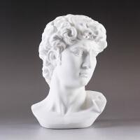大卫石膏像摆件大号装饰北欧雕塑创意人物雕像工艺品客厅家具摆设