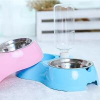 户外水具狗狗用品狗碗狗盆猫咪用品猫碗狗食盆双碗自动饮水器泰迪宠物用品