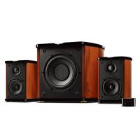 【当当自营】惠威(HiVi) M50W 2.1声道有源音箱 电脑音箱 电视音响