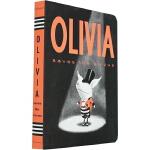 英文原版进口 Olivia Saves the Circus奥莉薇拯救马戏团(卡板书)