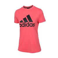 adidas/阿迪达斯女款2019夏季新款半袖圆领休闲上衣T恤DY7733