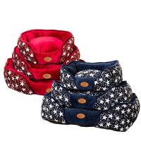 狗窝猫窝冬季保暖中小型犬宠物窝泰迪狗狗床垫可拆洗用品多省
