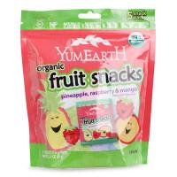美国Yummy Earth牙米滋天然水果软糖热带水果口味 88g 宝宝零食