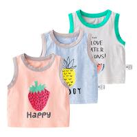 男宝宝夏装无袖休闲薄款背心婴儿童女童装夏季满月