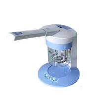 面部蒸脸器 离子喷雾仪 美容仪器家用台式热喷 面部加湿器 蓝色