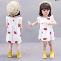 女童连衣裙夏装新款儿童装洋气女孩女宝宝公主裙子
