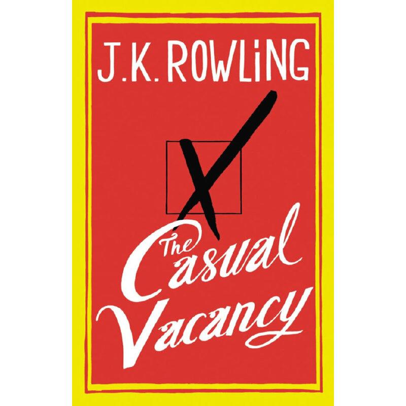 The Casual Vacancy 偶发空缺 英文原版 英文原版之精装版 哈利波特之母JK罗琳首部黑色幽默成人小说!以在一座看似诗情画意实则暗藏争斗的英国小镇为背景,讲述了小镇表面平静下的种种勾心斗角。当当5星级英文学习产品