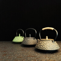 铸铁茶壶纯手工日本南部铁壶酒店用品公司年会礼品套装铸铁泡茶烧水壶煮茶器电陶炉茶炉功夫茶具