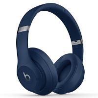 【当当自营】Beats Studio3 Wireless 录音师无线3代 头戴式 蓝牙无线降噪耳机 游戏耳机 - 蓝色
