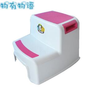 物有物语 儿童垫脚凳 家用浴室台阶凳儿童防滑凳洗手垫脚凳脚踏阶梯凳塑料小板凳加厚凳子