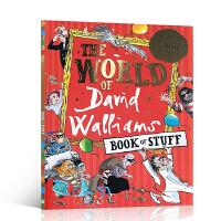 英文原版 The World of David Walliams Book of Stuff 大卫的世界 儿童启蒙阅读