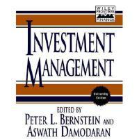 【预订】Investment Management
