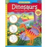 【预订】Dinosaurs [With Drawing PadWith Stickers]