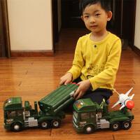 儿童玩具军事系列战斗机声光音乐汽车模型惯性工程车火箭导弹战车