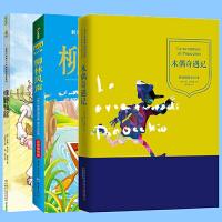 绿野仙踪柳林风声木偶奇遇记 【全三册】儿童文学读物故事书6-7-8-9-10-12岁小学生图书一二三四年级课外书-8-