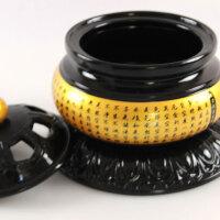 香炉道陶瓷盘香佛教用品莲花器具薰熏檀炉