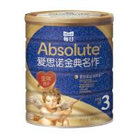 每日爱思诺金典名作 韩国原装进口婴儿配方奶粉3段配方罐装牛奶粉800g