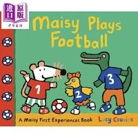 【中商原版】小鼠波波系列 Maisy Plays Football 小鼠波波足球日 低幼早教认知启蒙绘本 平装 英文原版