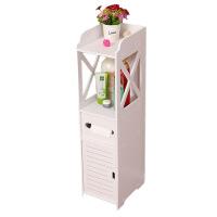 收纳架 马桶架子厕所置物架卫生间置地式落地防水储物柜浴室化妆品收纳柜