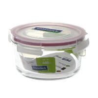 GlassLock/三光云彩 SGYC12韩国进口钢化玻璃乐扣微波保鲜盒 碗饭盒RP525