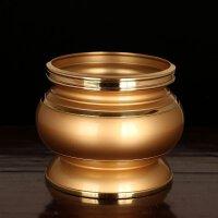佛具佛教用品铜香炉供佛纯铜香插居室家用香薰炉寺庙观音香炉