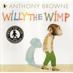 英文原版绘本 Willy the Wimp 胆小鬼威利30周年纪念版 Anthony Browne 安东尼布朗