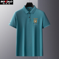 2件3折 纯色长袖polo衫男士秋季宽松T恤 伯克龙男装商务休闲保罗衫A8903