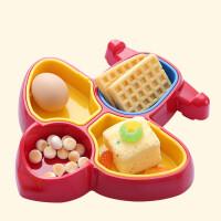 彩盒装宝宝餐具幼儿童分餐碗飞机碗宝宝学习碗婴儿吃饭餐具餐盘M