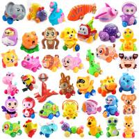 婴儿宝宝发条上链益智早教玩具婴儿童0-1-3学爬行练习任选3款青蛙