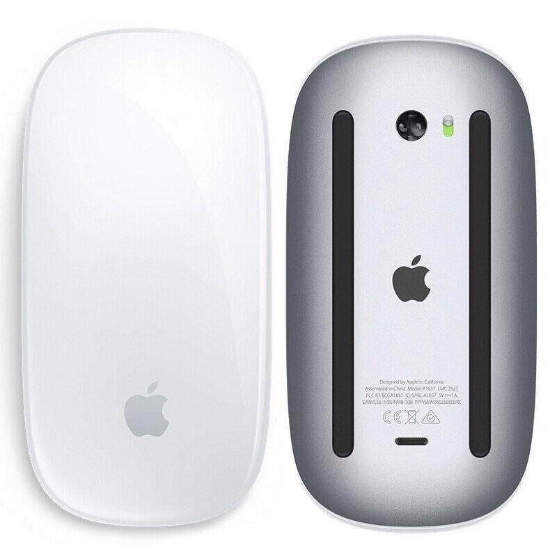 【支持礼品卡】苹果原装二代鼠标无线蓝牙苹果鼠标magic mouse 2 轻薄MLA02 白色原封全新正品