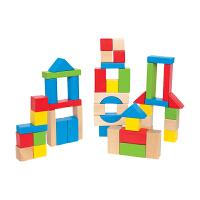 儿童积木玩具木制桶装1-2周岁 宝宝玩具1-2周岁女孩男孩