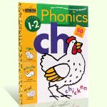 顺丰包邮 英文原版 Phonics 1-2年级 金色童书 Golden Books 50张彩色贴纸 贴纸书 美国小学一