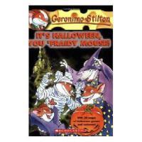 英文原版儿童书 It's Halloween, You 'Fraidy Mouse! 老鼠记者