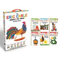 艾瑞卡尔爷爷 英文原版绘本 The Eric Carle Ready-to-Read Collection 6册盒装