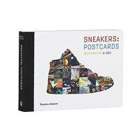 【预订】Sneakers : Postcards 运动鞋:明信片 鞋子图片 绘画册图集