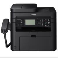 佳能(Canon)MF226dn 黑白激光多功能一体机(打印 复印 扫描 传真 电话 有线网络 触屏操控) 替代 MF