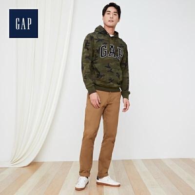 限尺码: GAP 盖璞 444145 男士徽标连帽卫衣 低至159.6元