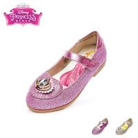 迪士尼Disney童鞋17时尚新款公主鞋女孩闪钻时装鞋 格力特闪耀学生返校鞋女童单鞋 粉色(5-10岁可选)  DF0145