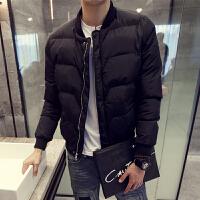 短款棉衣男冬季新款青少年棉袄韩版面包服保暖加厚外套修身潮