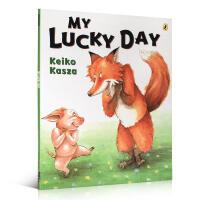 英文原版进口 My Lucky Day 我的幸运日 庆子绘本 张湘君 绘本工作坊推荐 i阅读图书 凯萨兹 Keiko
