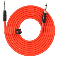 电吉他连接线电箱音频电频线木吉他贝斯降噪线3/6/10米