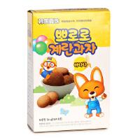韩国宝噜噜宝露露 鸡蛋饼干50g 香蕉味 宝宝磨牙饼干 零食
