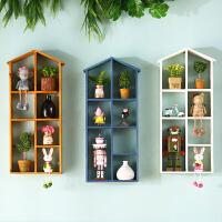 收纳置物架房间墙上装饰品挂件创意家居装饰房间墙壁挂饰