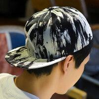春夏平沿韩版嘻哈帽男街头户外棒球帽遮阳帽韩版潮街舞鸭舌帽休闲 可调节